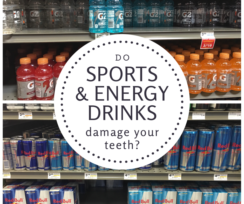 Do Sport and Energy Drinks Damage Teeth?